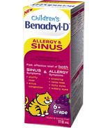 Benadryl-D Allergy & Sinus