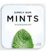 Simply Gum Peppermint Natural Mints