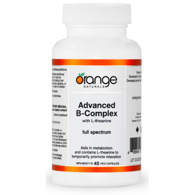 Orange Naturals Advanced B-Complex with L-Theanine