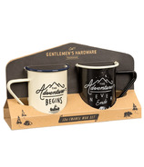 Gentlemen's Hardware Enamel Mugs Set