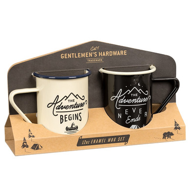 Gentlemen\'s Hardware Enamel Mugs Set
