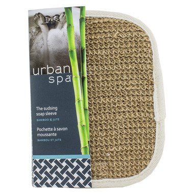 Urban Spa Bamboo & Jute Soap Sleeve