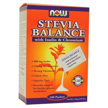 NOW Better Stevia Balance Packets