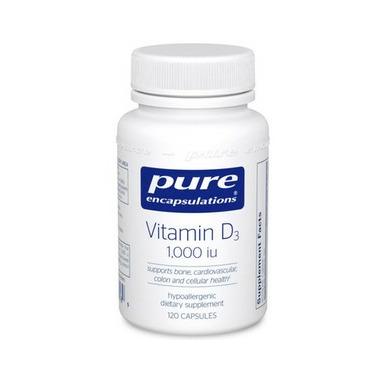 Pure Encapsulations Vitamin D3 1,000 I.U.