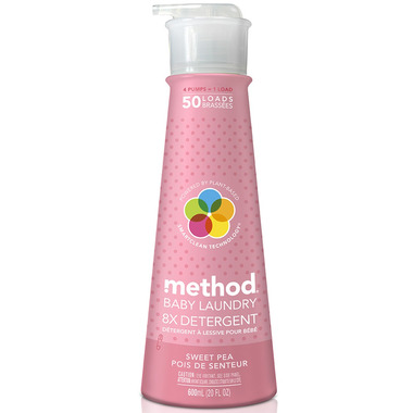 Method Laundry Detergent Baby in Sweet Pea