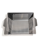 Outset Stainless Steel Square Grill Wok