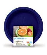 Preserve Small On The Go Plates Midnight Blue