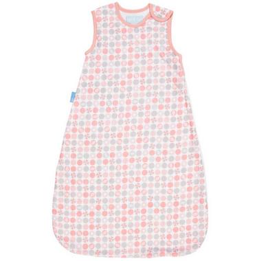 Grobag Baby Sleep Bag Lightweave 1.0 Tog Pink Beach Balls