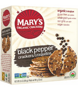 Mary's Organic Crackers Black Pepper Crackers