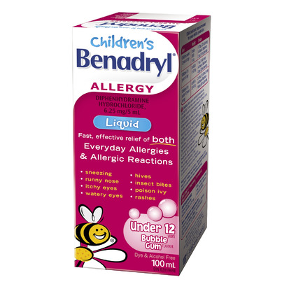 Buy Benadryl Allergy Children S Liquid From Canada At Well