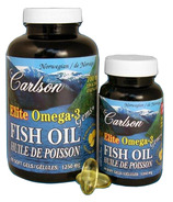 Carlson Elite Omega-3 Fish Oil Gems BONUS PACK