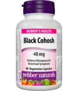 Webber Naturals Black Cohosh Capsules