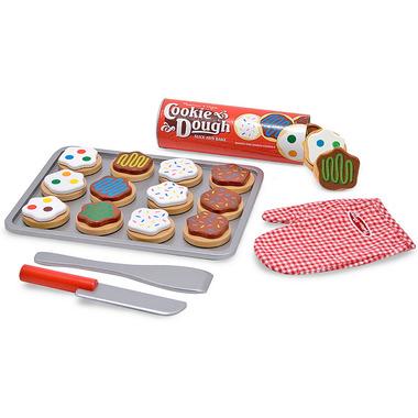 Melissa & Doug Wooden Play Slice and Bake Cookie Set