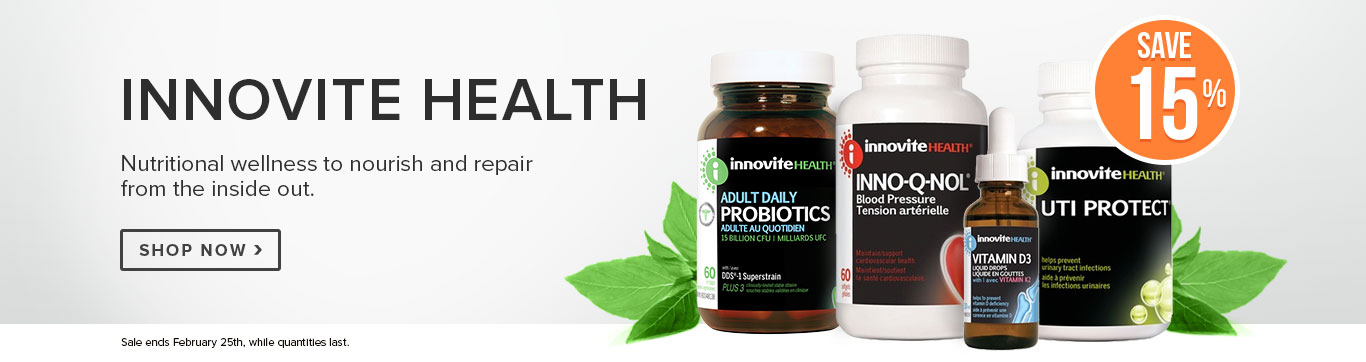 Save 15% on Innovite Health