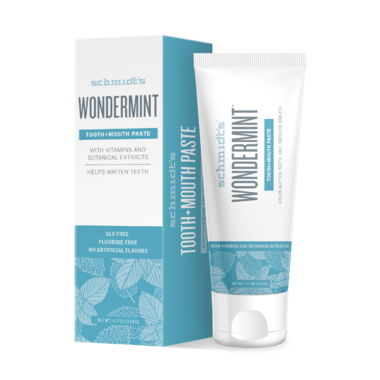 Schmidt\'s Naturals Tooth + Mouth Paste Wondermint