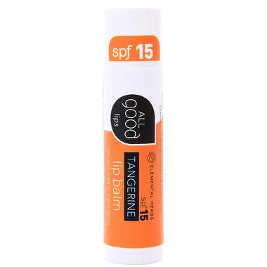 All Good Tangerine Lip Balm SPF15