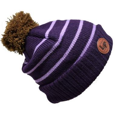 L&P Apparel Aspen Winter Hat Plum & Purple