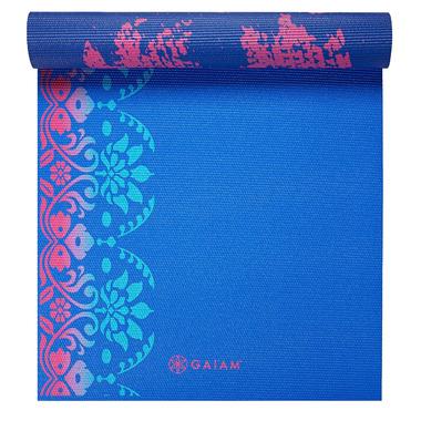Buy Gaiam Reversible Yoga Mat Pleasant Pose At Well Ca