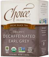 Choice Organic Teas Decaffeinated Earl Grey Tea