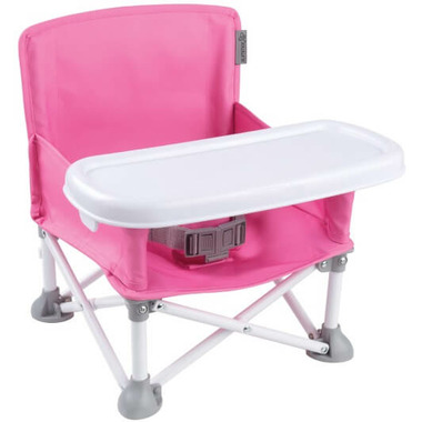 Summer Infant Pop n Sit Portable Booster Seat Pink