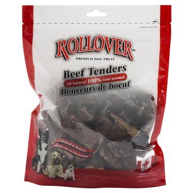 Rollover Premium Dog Treats Beef Tenders