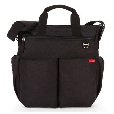 Skip Hop Duo Signature Diaper Bag Black