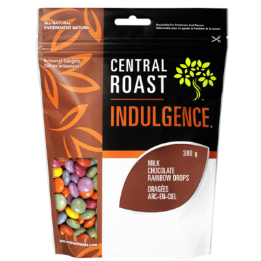 Central Roast Indulgence Milk Chocolate Rainbow Drops