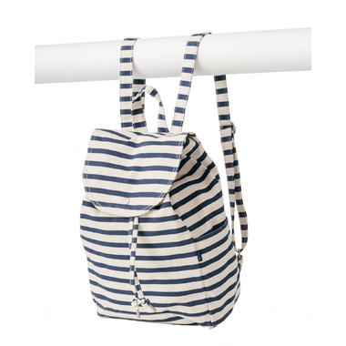 Baggu Drawstring Backpack Sailor Stripe