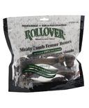 Rollover Premium Dog Treats Meaty Lamb Femur Bones