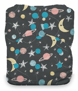 Thirsties Snap Natural One Size All-in-One Diaper Stargazer