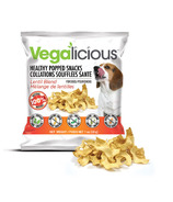 Vegalicious Healthy Popped Snacks Lentil Blend