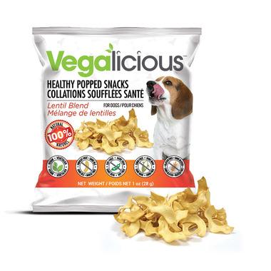 Vegalicious Healthy Popped Snacks Lentil Blend