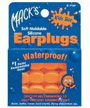Mack's Pillow Soft Earplugs for Kids - Hot Orange