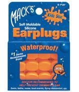 Mack's Pillow Soft Earplugs for Kids - Hot Orange