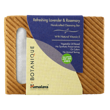 Botanique by Himalaya Lavender & Rosemary Cleansing Bar