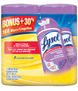 Lysol Disinfecting Wipes Double Pack Lavender