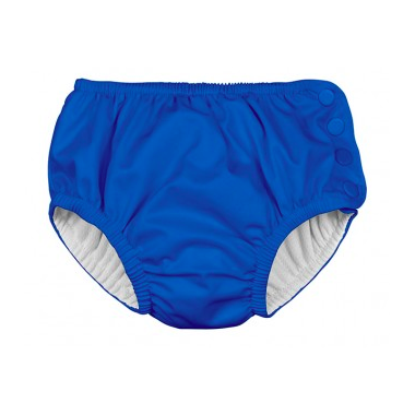 iPlay Snap Reusable Absorbent Swimsuit Diaper Royal Blue