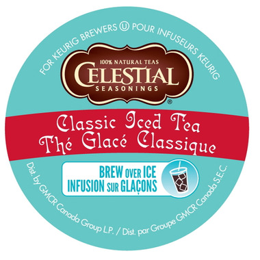 Celestial Seasoning Classic Iced Tea K-Cups