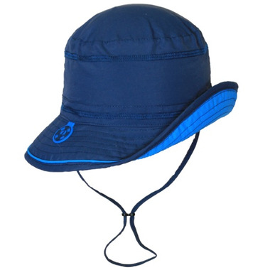 Calikids Quick-Dry Bucket Hat With Adjustable Crown Navy