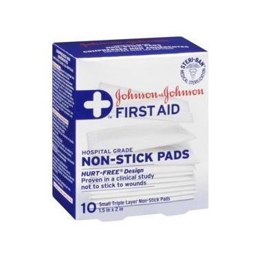 Johnson & Johnson First Aid Non-Stick Pads