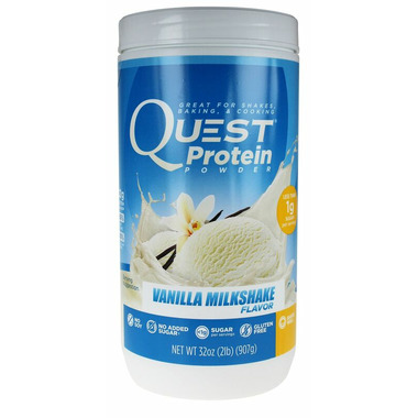 Quest Nutrition Vanilla Milkshake Protein Powder
