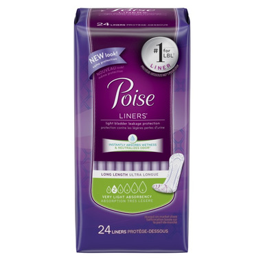 Poise Liners Long