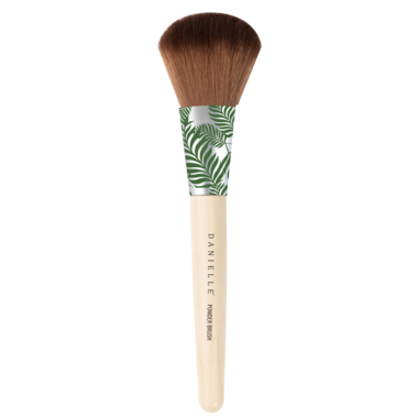 Danielle Designer Bamboo Collection Green Palm Powder Brush