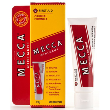 Mecca Ointment Original Formula First Aid Ointment