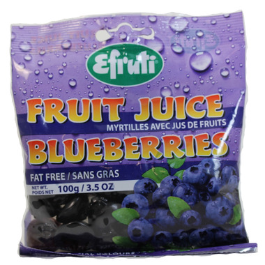 Efruti Fruit Juice Blueberries