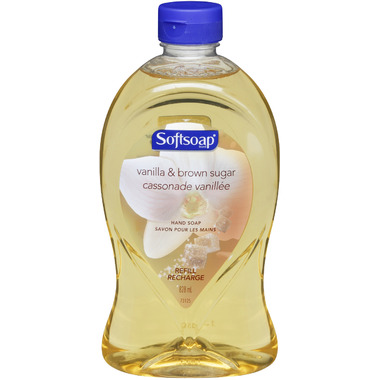 Softsoap Vanilla & Brown Sugar Liquid Hand Soap Refill