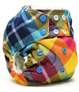 Kanga Care Rumparooz G2 Cloth Diaper Preppy