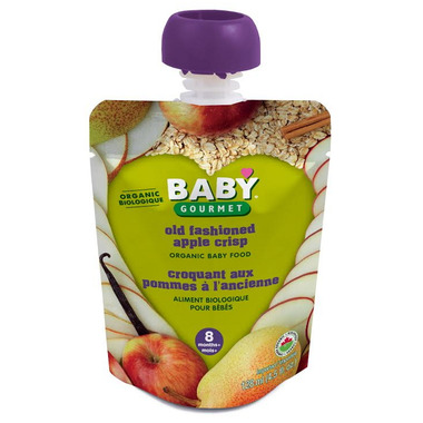 Baby Gourmet Old Fashioned Apple Crisp Baby Food Case