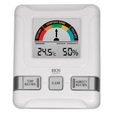 Bios Indoor Hygrometer with Bios Comfort Scale