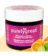 Purelygreat Cream Deodorant for Women